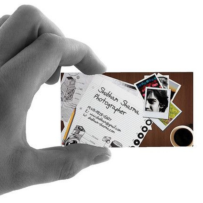 Consejos para el diseño de una tarjeta de visita