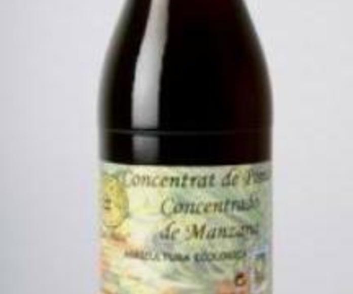CONCENTRADO de Manzana, Sirope de Arce y Sirope de Agave. CAL VALS: Catálogo de La Despensa Ecológica