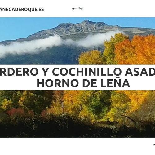 Asadores en Rascafría | La Fanega de Roque - Comedor Solariego