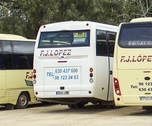 Autobuses eventos Valencia