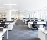 Sillón ergonómico radius-01.Gran instalación de nuevas oficinas.