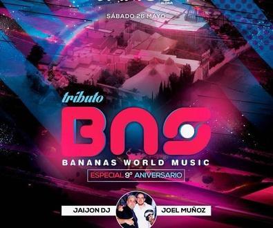 ¡BANANAS WORLD MUSIC en JANGO XL!
