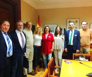 Reunión en sede Parlamentaria Área de salud GP CIUDADOS