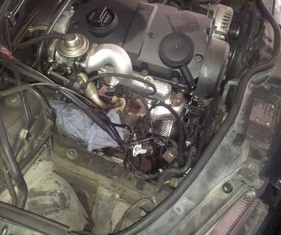 Reparacion Turbo V.W.