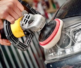 Restauración de plásticos, gomas y cauchos: Servicios, productos y tarifas de RICO CAR  WASH