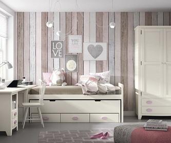 Dormitorio principal: Catálogo de Pepe Gálvez Mobiliario y Decoración