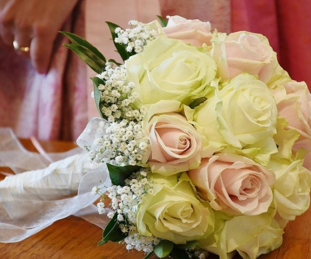 Las flores más usadas en las bodas