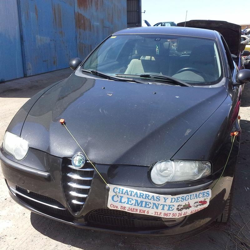 Desguace de Alfa 147 año 2004 en albacete. desguaces clemente
