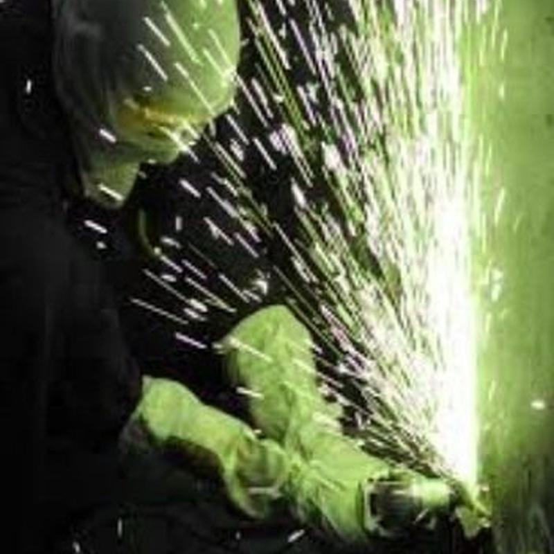 Trabajos de soldadura industrial: Servicios de Alyos,S.L