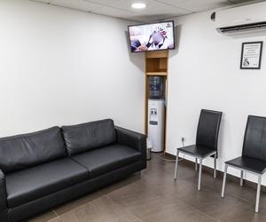 Sala de espera Centro de Estética Dental Innova