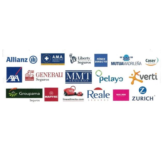 Compañías aseguradoras: Servicios de Talleres Automoción Mangudo