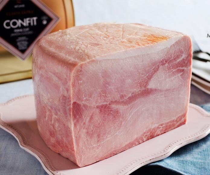 Jamón cocido confit duroc desllaunat con piel: Productos de Lucas Gourmet