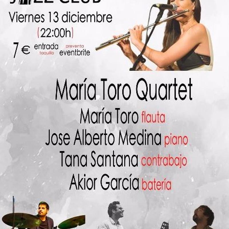 María Toro Quartet: Programación de Café Teatro Rayuela