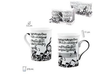 Set 2 mug música