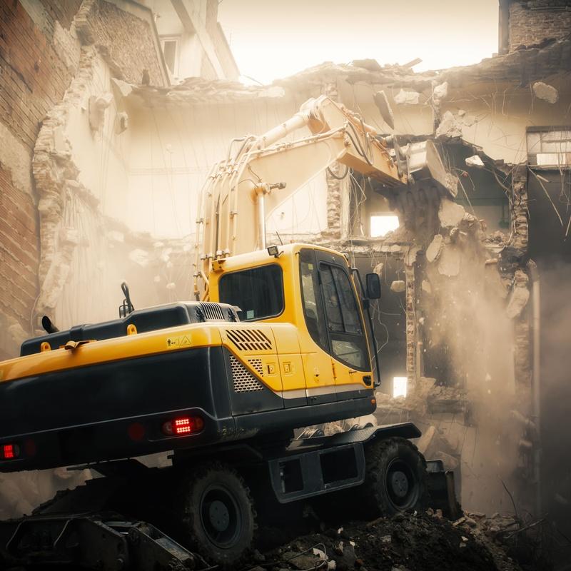 Derribos: Servicios de Armonía Ábaco Construcciones y Servicios