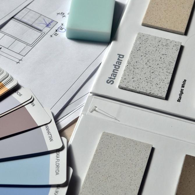 Las paletas de colores en la decoración de interiores