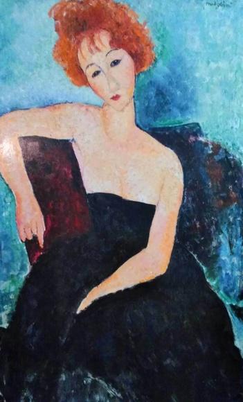 Modigliani. Pelirroja (VER) t3: CATALOGO de Quadrocomio La Casa de los Cuadros desde 1968