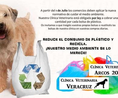 Reduce el consumo de plástico y recicla