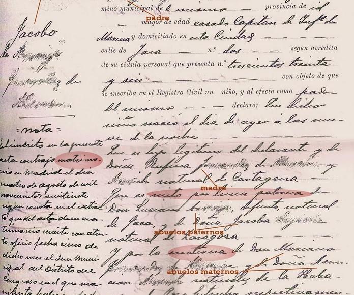 Certificados de defunción/Death Certificates