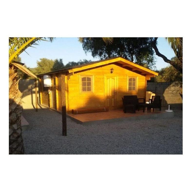 Caños (32 m2): Casas de madera de 5SCC Casas de Madera