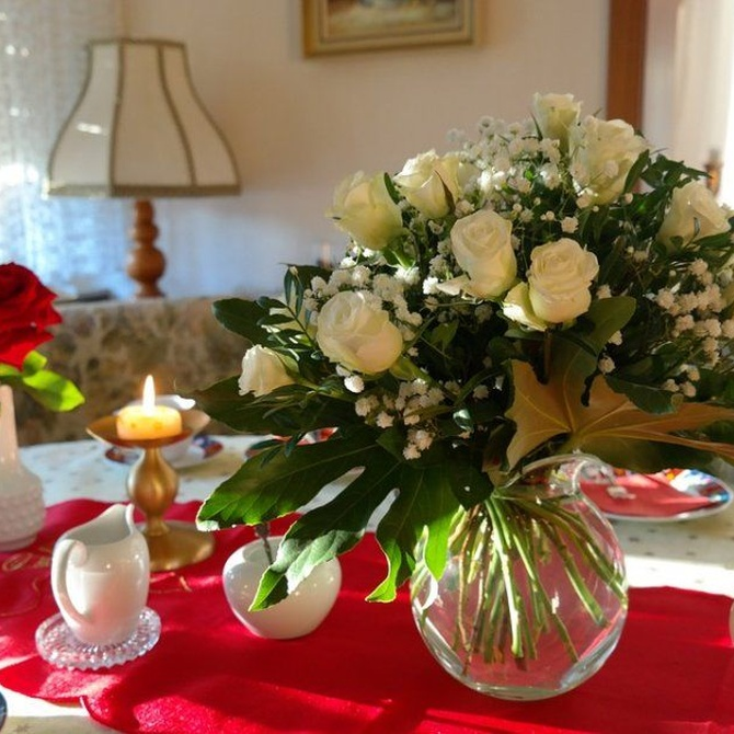Flores más habituales en un centro de mesa