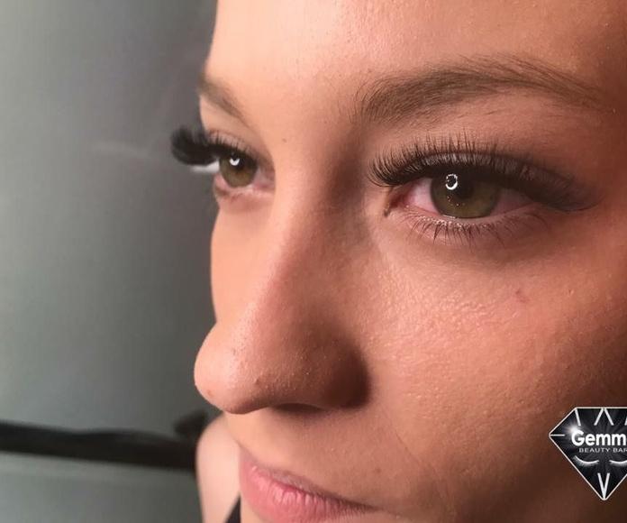 Extensiones de pestañas: Nuestros servicios y fotos de Gemma Beauty Bar