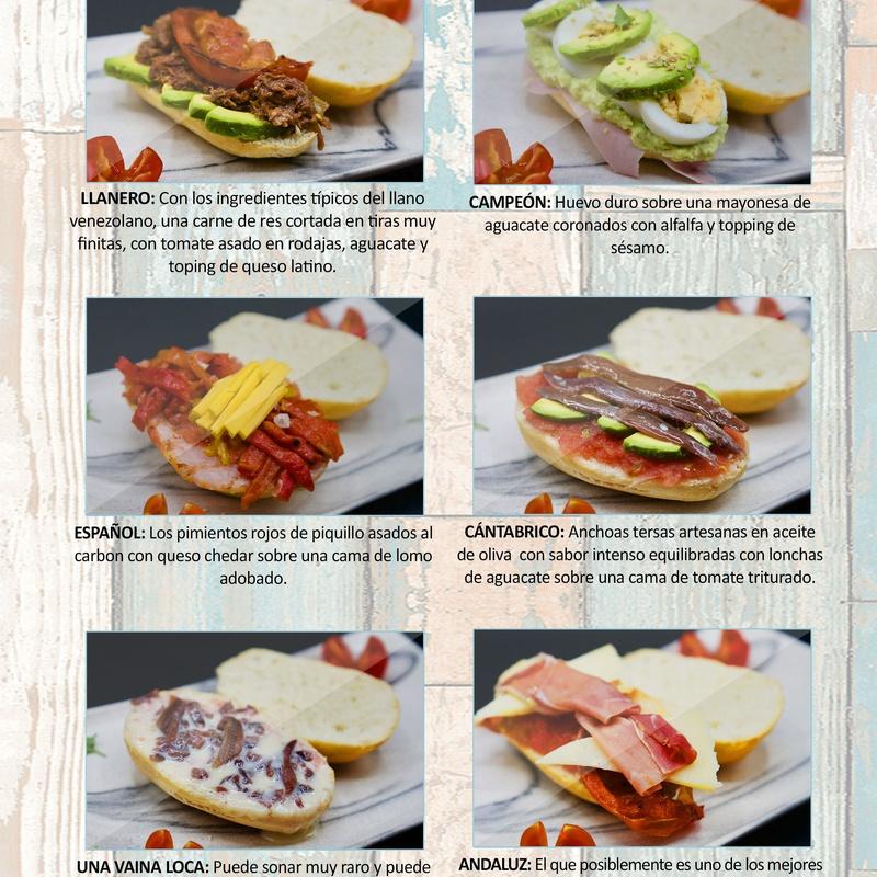 Pitufos: Carta de Restaurante Pal-buche