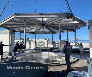 Trabajos de taller de estructuras metálicas en Cantabria