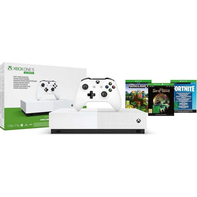 Xbox One S All Digital 1TB: Productos y Servicios de Digitech