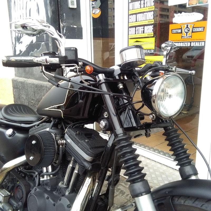 Transformación motos Valencia, customizacion Sporters, Harley Davidson Valencia,custom