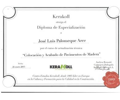 Diploma de especialización