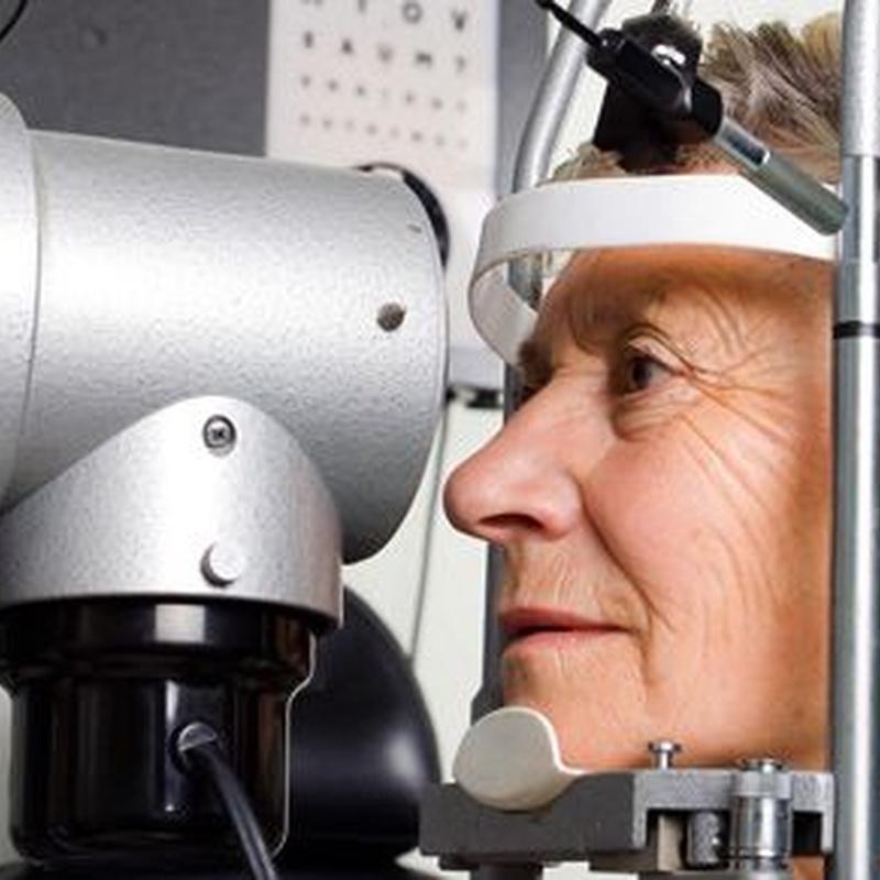 Examen de salud ocular: Servicios de Optoteka Óptica y Audio