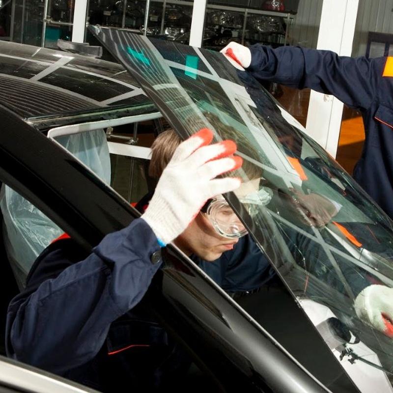 Cambios y reparaciones: Productos y Servicios de Glassdrive Getafe