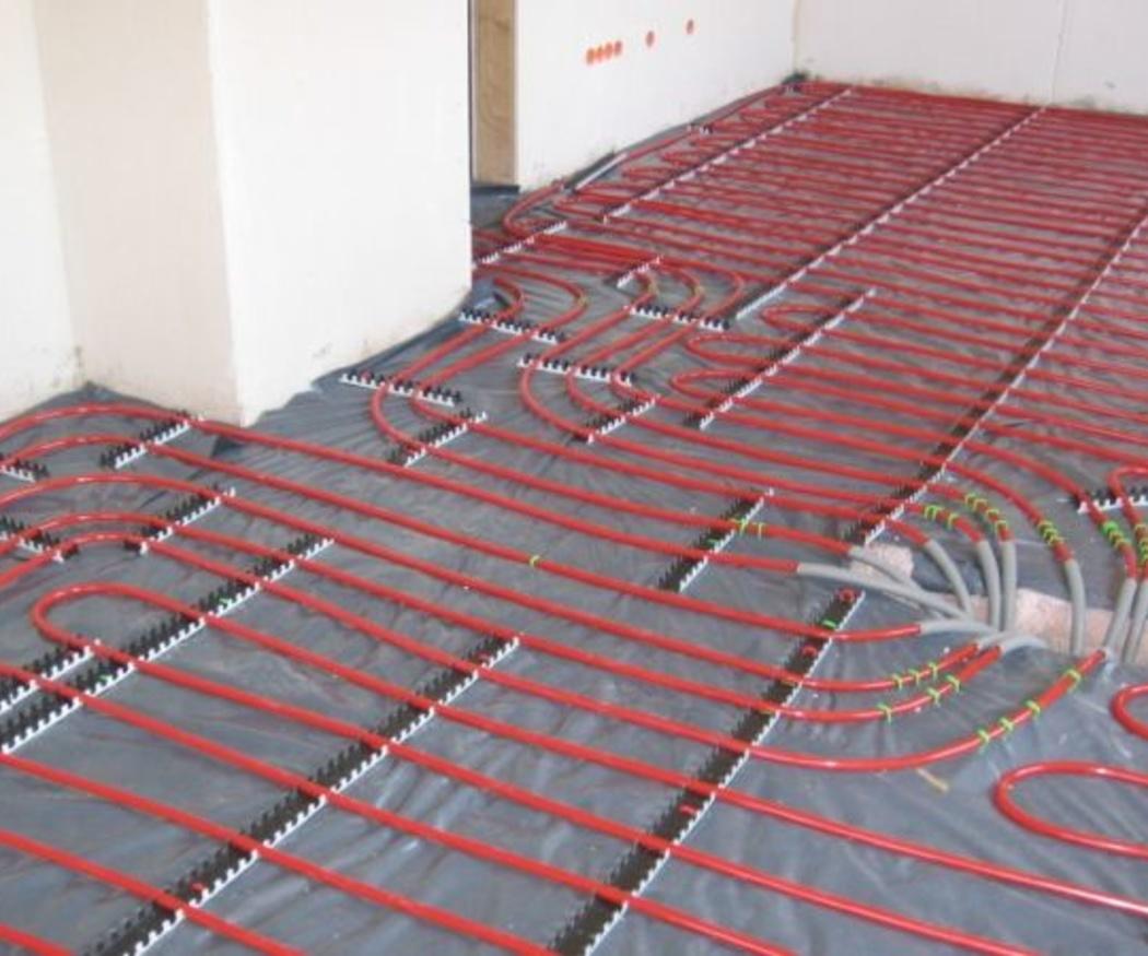 Conoce las ventajas de la calefacción por suelo radiante