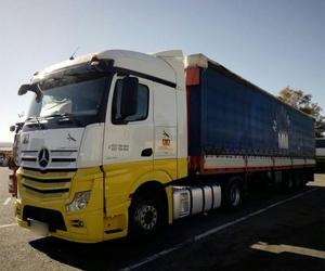 Transporte nacional de mercancía pesada