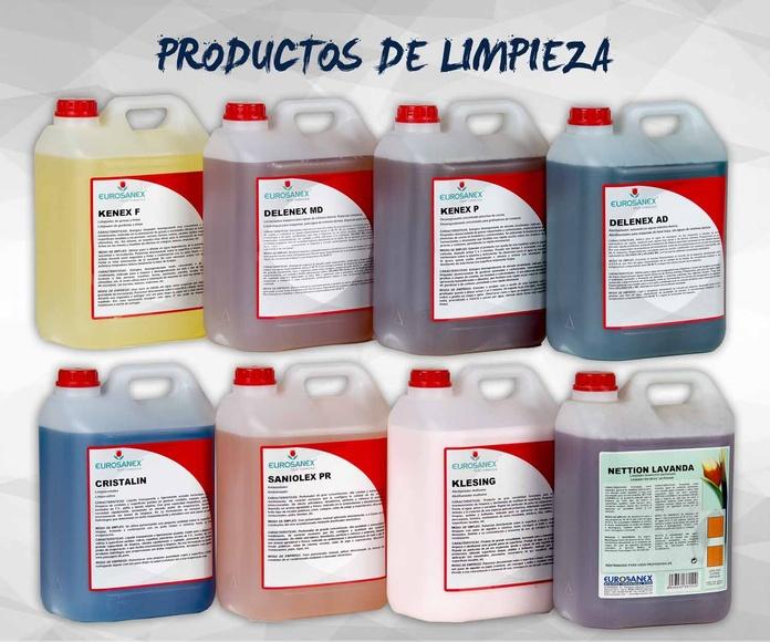 Productos y utensilios de limpieza e higiene: Productos de Exclusivas San Luis