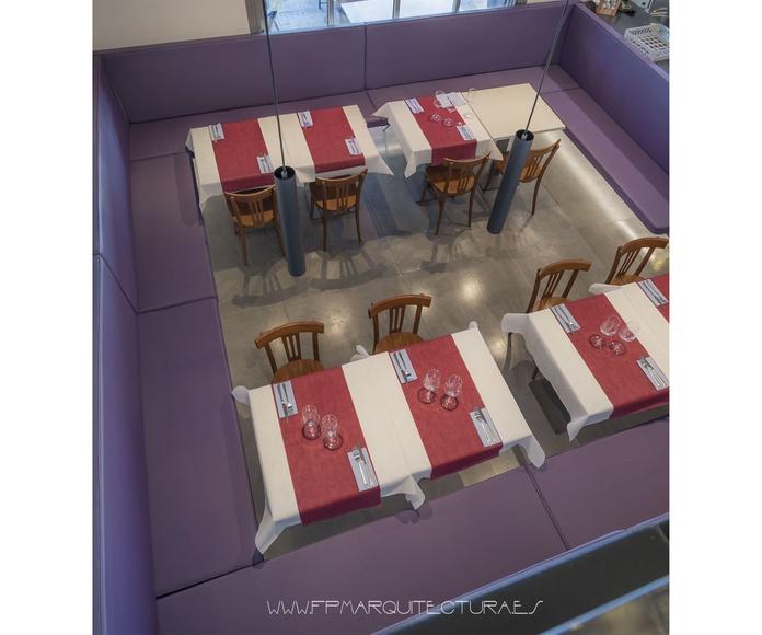 Síntesis  Restaurant: Built Works de FPM Arquitectos