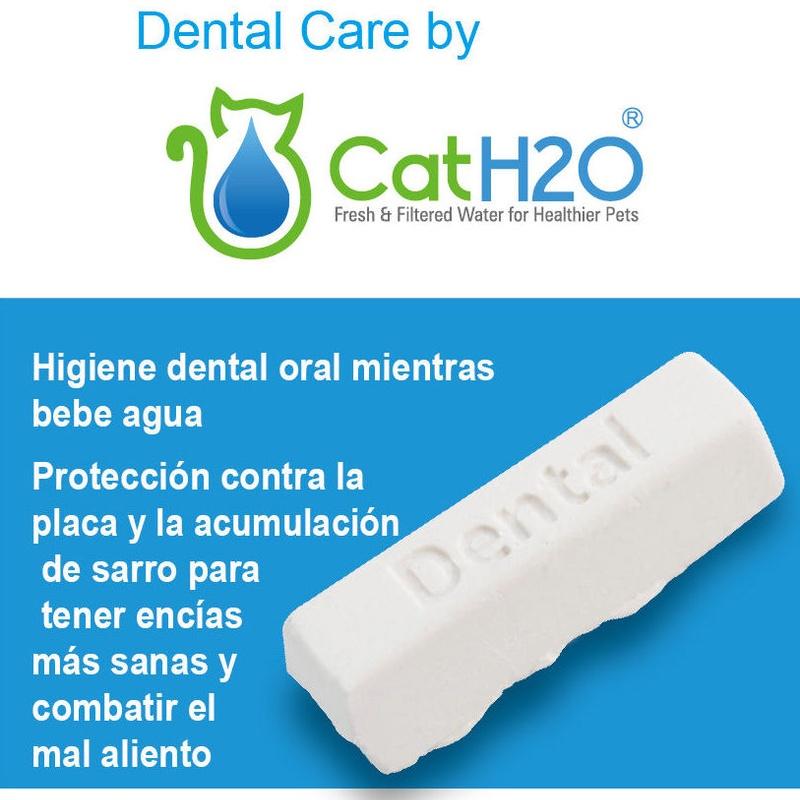 Tabletas cuidado dental CAT H20 y DOG H20