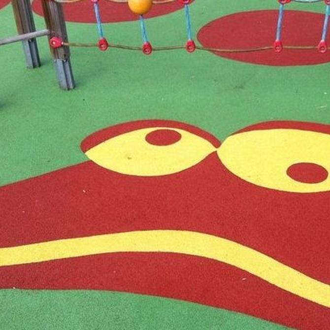 Las ventajas de los suelos de caucho