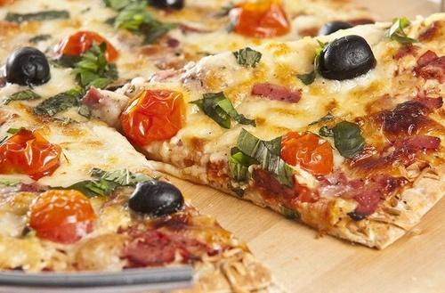 Diferentes tipos de pizza