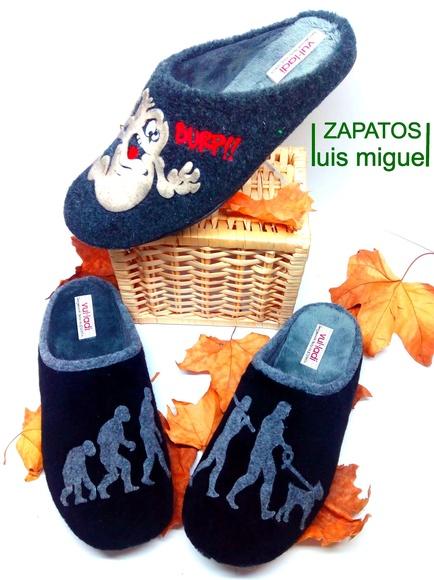 zapatillas de caballero dacha: Catalogo de productos of Zapatos Luis Miguel