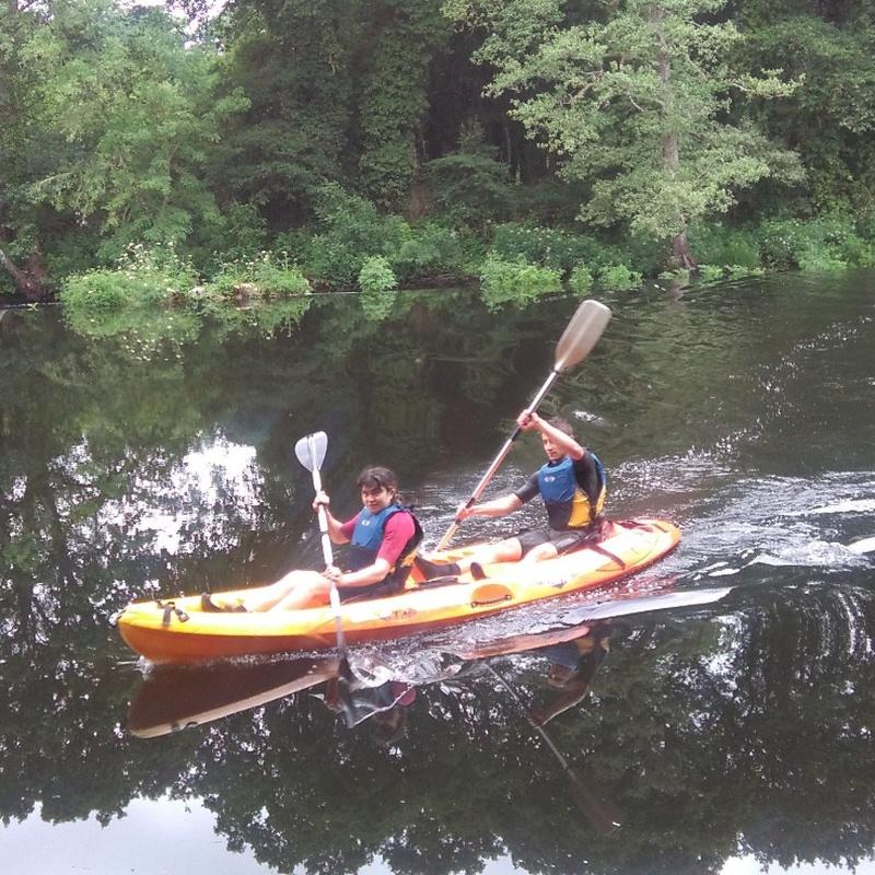 Ruta en Kayak por el río Miño: Actividades de Taberna O´Cruceiro Multiaventura