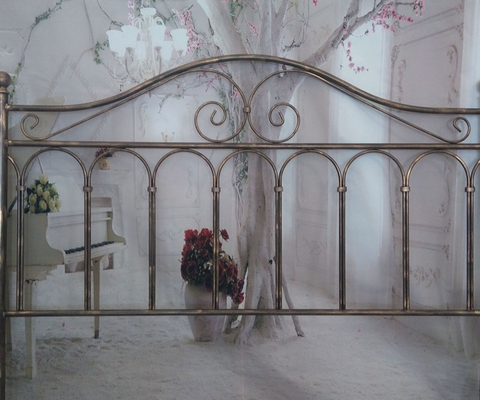 Cabecero forja Málaga: Catálogo de muebles de forja de Forja Manuel Jiménez