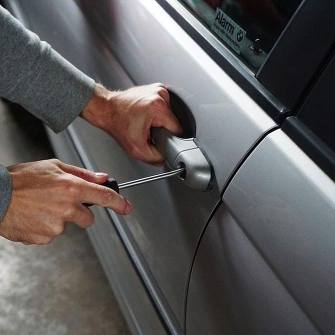 Los coches más robados en nuestro país