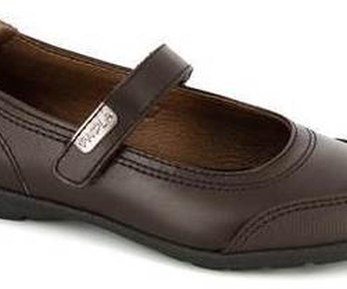 Zapato colegial marron de Pablosky. Ref. 827490