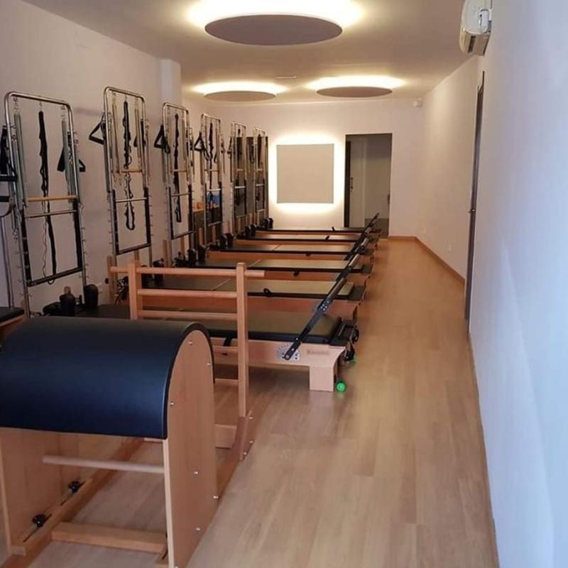 Pilates máquina: Actividades de FitBox Club