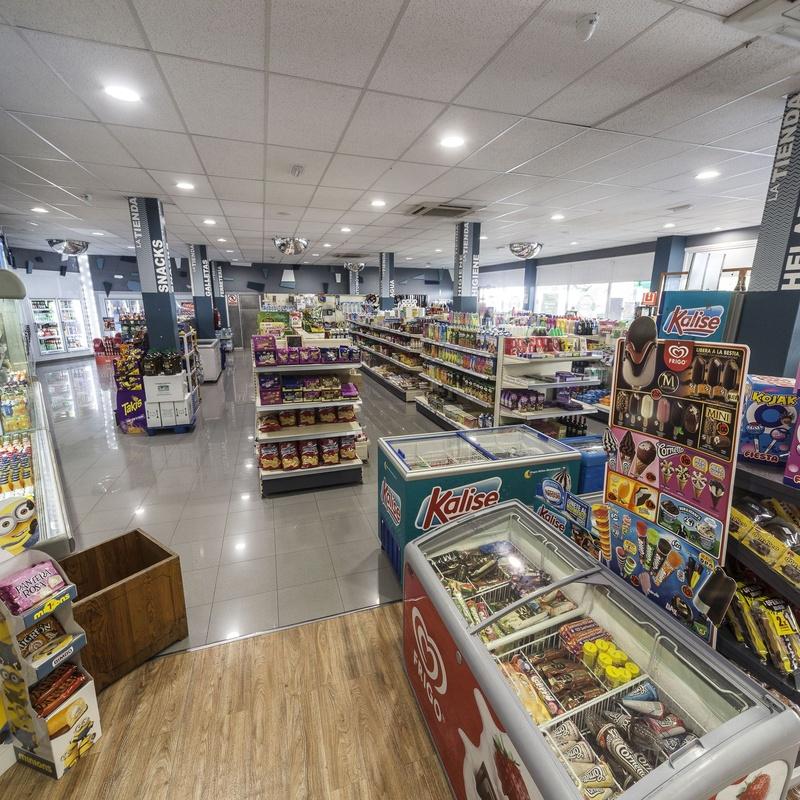 Supermercado: Servicios de Gasolinera El Carmen
