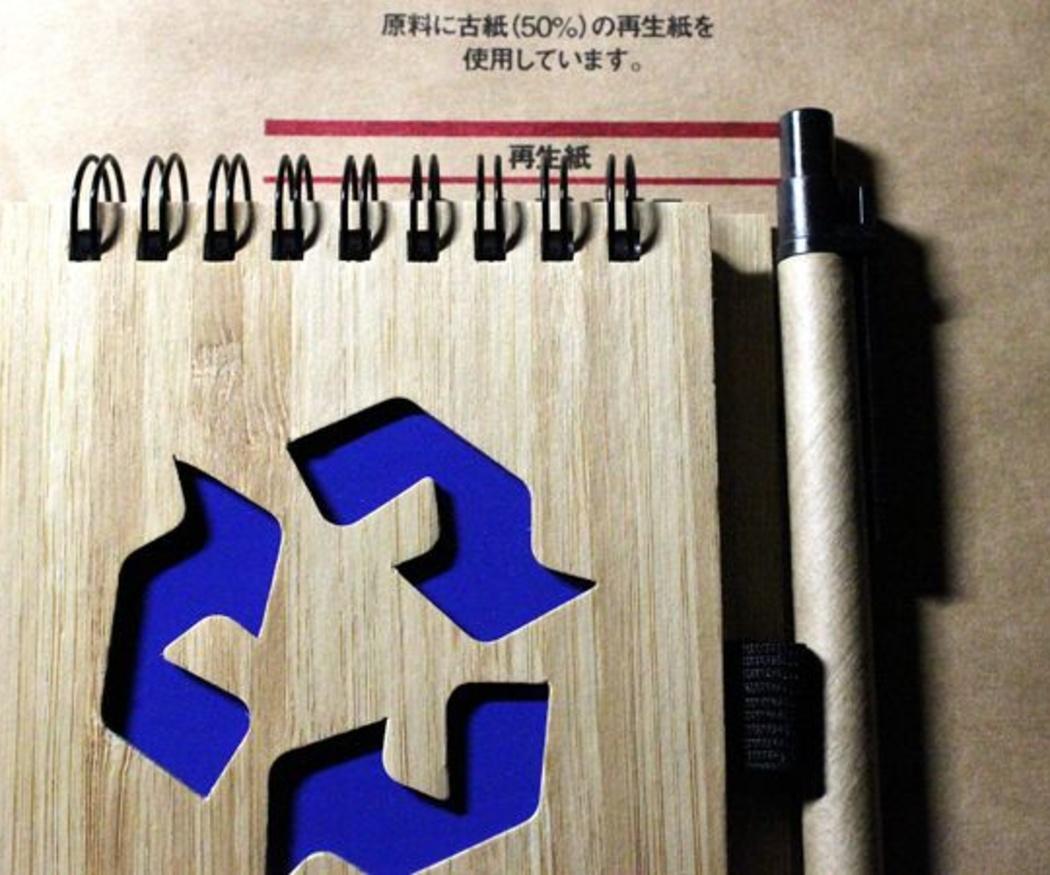 Protege el medio ambiente usando papel reciclado