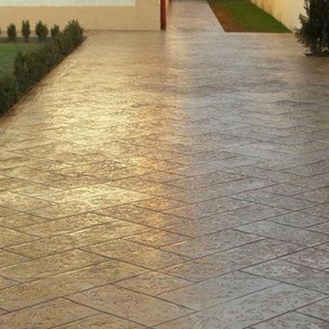 Cuidados básicos de los pavimentos de hormigón impreso