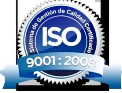 Certificado ISO Calidad